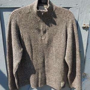 American Eagle Outfitters half zip Lambs wool